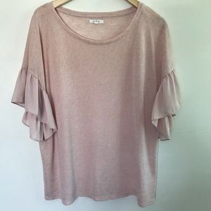 Maurices Flutter Sleeve Too XL